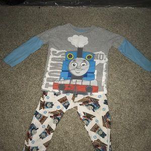 Toddler boy pajamas Thomas The Train